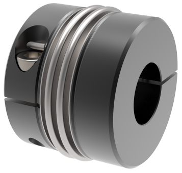 Metallbalgkupplung / Klemmnabe - KG-2W 350