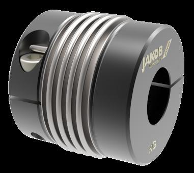 Metallbalgkupplung / Klemmnabe - KG-4W 80